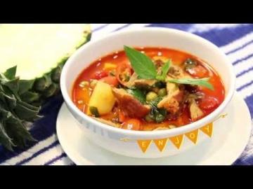 แกงเผ็ดเป็ดย่าง [Roasted Duck Red Curry] by Lobo 2in1